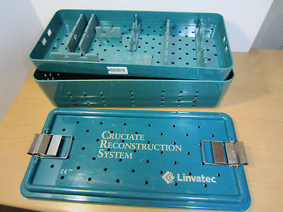 LINVATEC Cruciate Reconstruction System CONTAINER BOX for Femoral Surgery Tools
