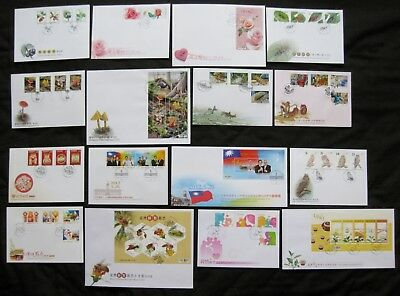 Taiwan 2012: Set of 24 First Day Covers