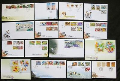 Taiwan 2006: *Complete Set of 31 First Day Covers