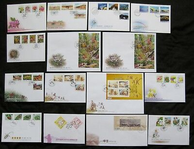 Taiwan 2010: Complete Set of 28 First Day Covers