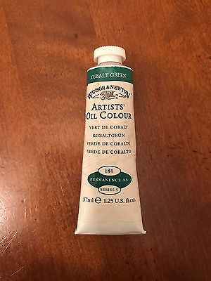 Windsor And Newton Artists' Oil Colour Cobalt Green 37ml