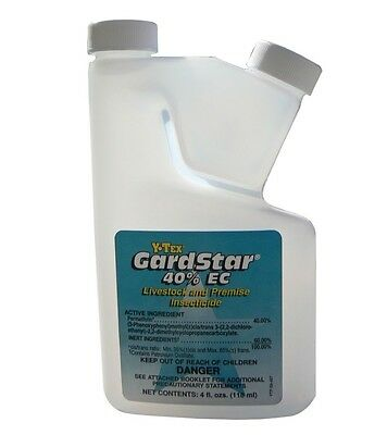 GardStar Insecticide / 40% Permethrin / Fly Control / New 4 oz Sealed Bottle