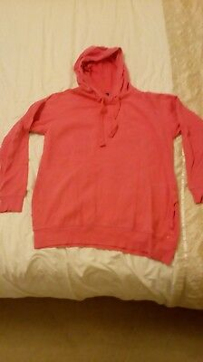 Size 12 maternity pink hoodie by Next