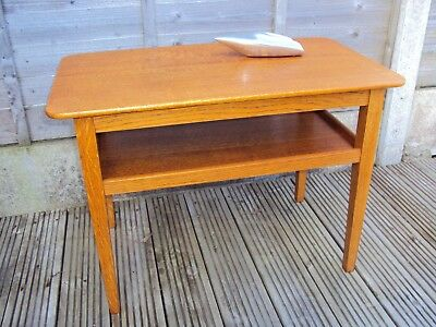 Beautiful solid wood side table