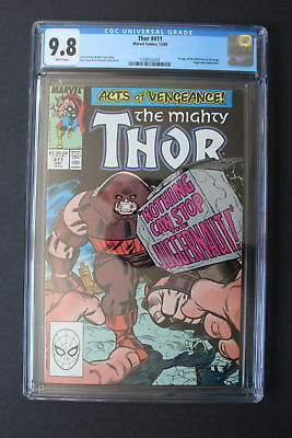 Thor #411 CGC 9.8 White Pages