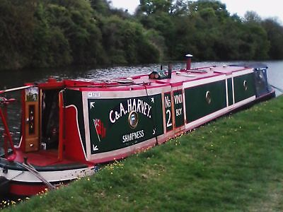 narrow boat John Pinder.  Vindi Boy saul junction vintage Ruston