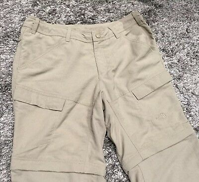 The North face Women's Hiking Pants  12 Convertible Dune Color