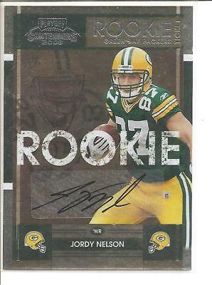 2008 Jordy Nelson Contenders Auto Autograph Rookie Rc Sp Ssp Hot Packers!!!!!