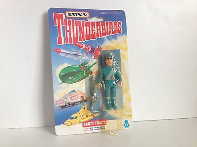 scott tracy action figure THUNDERBIRDS matchbox 1992 new sealed