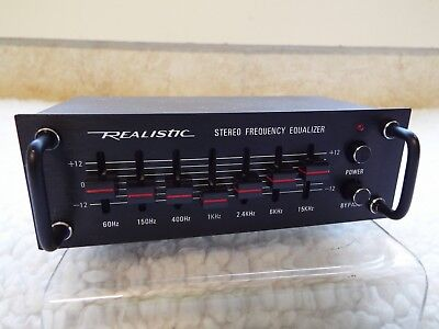 1980s Realistic 12-1867 7 Band compact pre-amp. Never used unit only!!