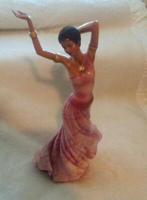 Homco Home Interiors African American Lady Regina Figurine #12675-06