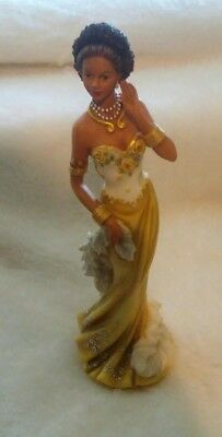 Homco Home Interiors African American Lady Marissa Figurine #12665-05