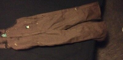 Snowsuit youth overalls size S Berne Brown