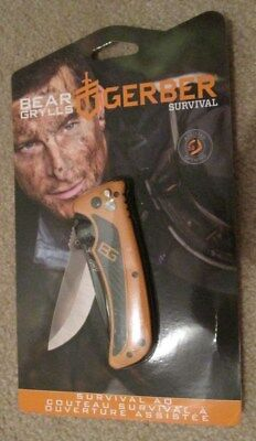 **brand New Bear Grylls Gerber Survival Assisted Opening 2.0**