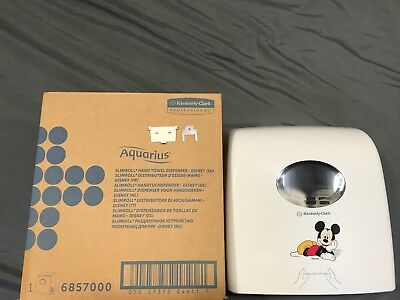 Kimberly-Clark Aquarius Slimroll hand towel Dispenser-Disney