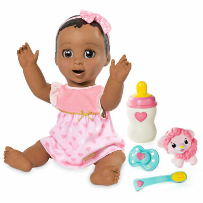 Luvabella Dark Brown Baby Girl Doll - FAST SHIP - 100% AUTHENTIC BRAND NEW