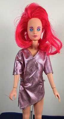 Vintage Jem and the Holograms KIMBER Doll  W/ Outfit 1985 Hasbro