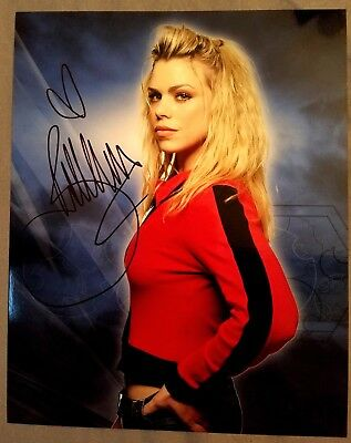 Billie Piper Doctor Who Autographed Signed 8x10 No COA