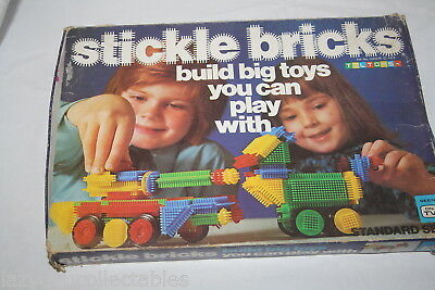 Stickle Bricks Toltoys Retro Builbing Toy