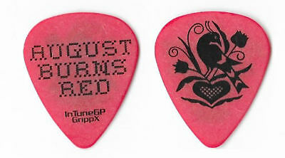 August Burns Red black/red tour guitar pick