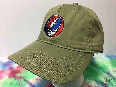 Grateful Dead Steal Your Face Embroidered Low Profile Organic Cotton Ball Cap