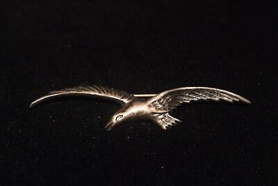 Vintage Sterling Silver Seagull bird pin brooch Silver Mexico! Gorgeous
