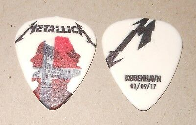 Metallica Rare COPENHAGEN DENMARK ROYAL ARENA SEPTEMBER 2 2017 Tour Guitar Pick