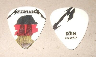Metallica RARE COLOGNE #1 GERMANY LANXESS ARENA SEPT 14 2017 Tour Guitar Pick