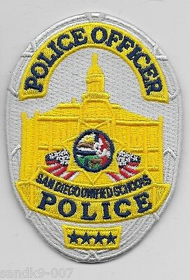 San Diego Unified School Police State of California CA Patch