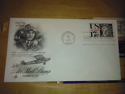 C-80 US Air Mail First Day Cover fdc 17 cent Statue Liberty  Issued Jul 31, 1971