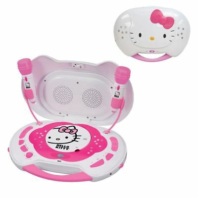 Hello Kitty CD Karaoke System-CD Player