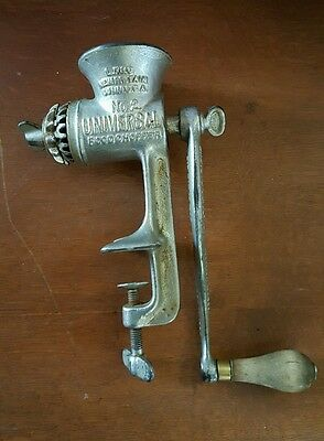 Number 2 Universal Food Chopper Pat 1897 New Britain Connecticut