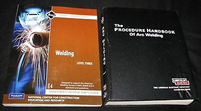 Pearson WELDING Level 3 w/CD + Procedure Handbook of ARC WELDING, Lincoln