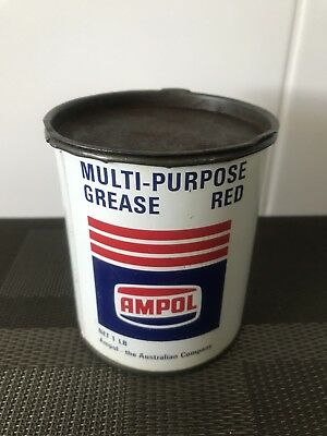 Ampol Multi Purpose Grease Red 1 Pound