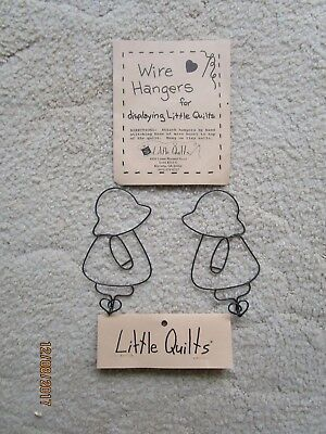 Sun Bonnet Sue Little Quilts Wire Hangers For Displaying Little Quilts