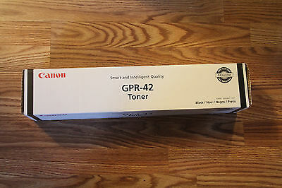 Genuine Canon GPR-42 Black Toner - 4791B003AB,  IR Advance 4045/4051, Sealed