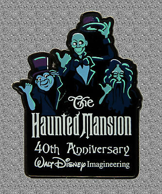 WDI  Haunted Mansion 40th Anniversary Pin  - Hitchhiking Ghosts - LE500