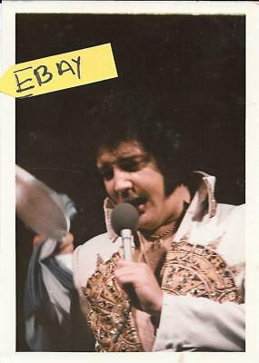 Vintage Never Seen Elvis Photo Last Concert 1977 K.lipps Lot # 201 L@@k