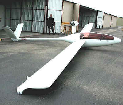 Drawings for self-construction of the glider Monerai.,Plans