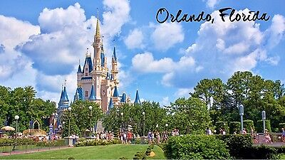 "Orlando - Florida - Travel - Souvenir - 2""x3"" Fridge Magnet - #3"