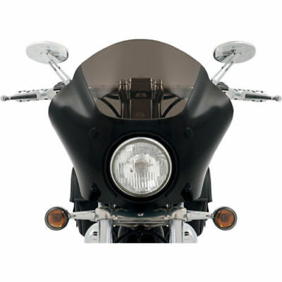 Memphis Shades Black Gauntlet Fairing for 96-10 Harley Sportster XL with mounts