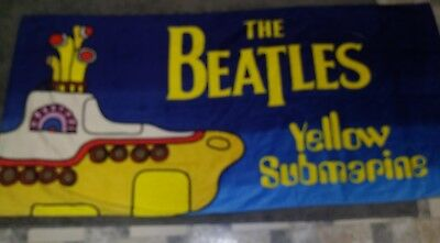 Brand NEW Officially Licensed The Beatles Yellow Submarine 5 ft beach towel