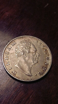 1835 India Rupee Silver Foreign Coin East India Company