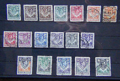 Northern Rhodesia 1938-52 values to 10s Used
