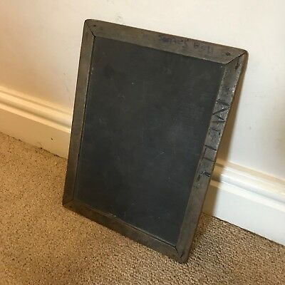 Antique / Vintage School Pupil Chalk Board.