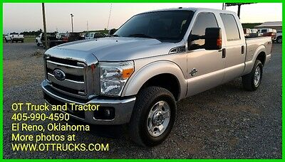 2011 Ford F-250 XLT 2011 Ford F-250 4WD XLT Leather Crew Cab Short Bed F250 6.7L Diesel