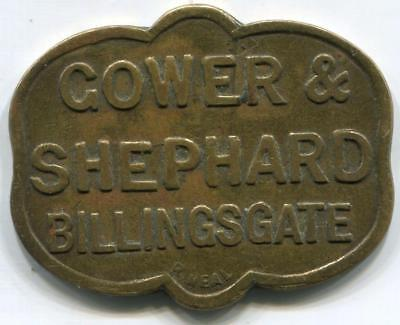 Gower and Shephard Billingsgate 5 Shilling Market Token by R Neal Michael Caine