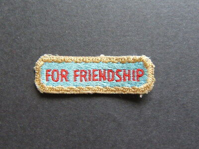 badge boy scouts patch IDAHO Jamboree 1967 for friendship badge