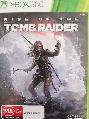 Rise of the Tomb Raider (Microsoft Xbox 360, 2015) - Excellent condition