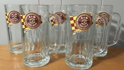 5 Mugs, A&W ROOT BEER 2001 MUG , 7 INCH TALL